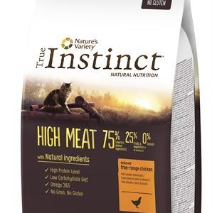 True instinct high meat chicken