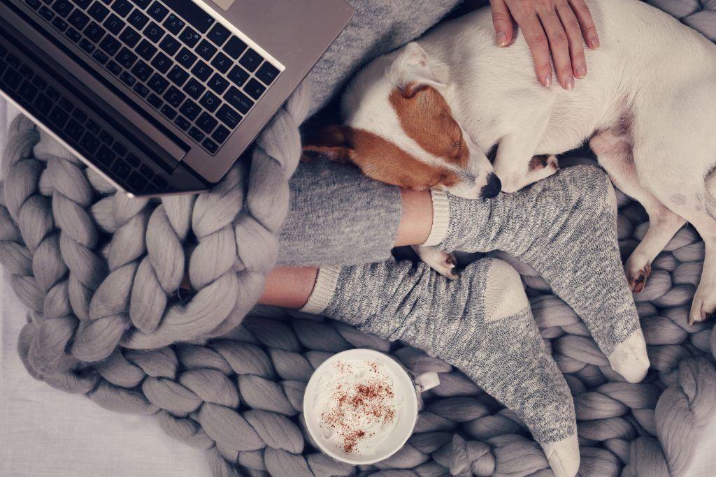 Netflix en een dekentje