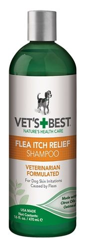 Vets best flea itch relief shampoo