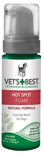 Vets best hot spot spray foam