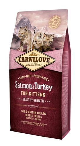 Carnilove salmon / turkey kittens