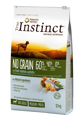 True instinct no grain medium adult salmon