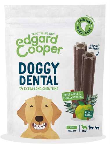 Edgard & cooper dental sticks appel / eucalyptus