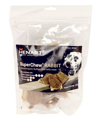 Henart superchew rabbit (SMALL 250 GR)