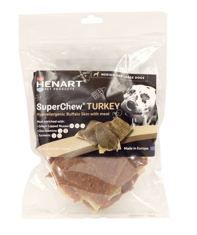 Henart superchew turkey (SMALL 250 GR)
