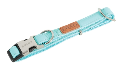 Zolux halsband hond imao piccadilly turquoise (40-65X2,5 CM)